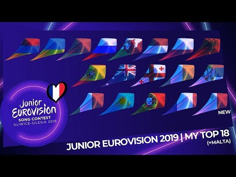 Junior Eurovision 2019 | My Top 18 (So Far) | (+Malta