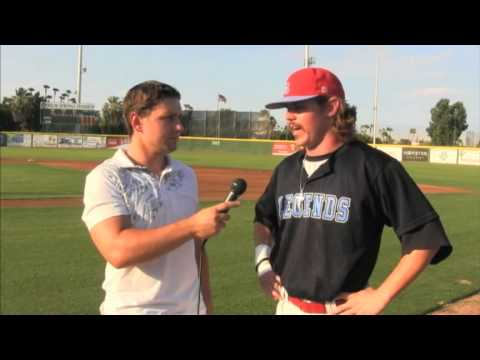 Legends Catcher discusses why he came back to the Legends for 2013 and what he was working on in the SCCBL.