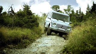 With the Mercedes-Benz G-Class up on the Schoeckl - Mercedes-Benz original