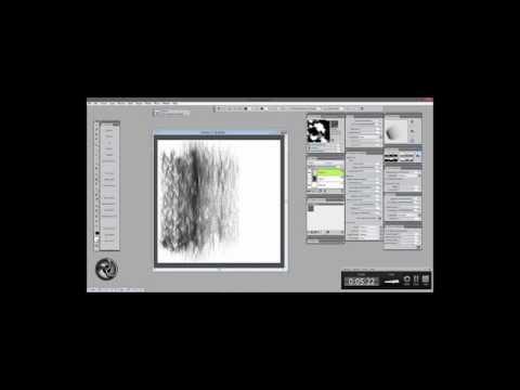 Corel Painter 2015 Particle Flow Brush