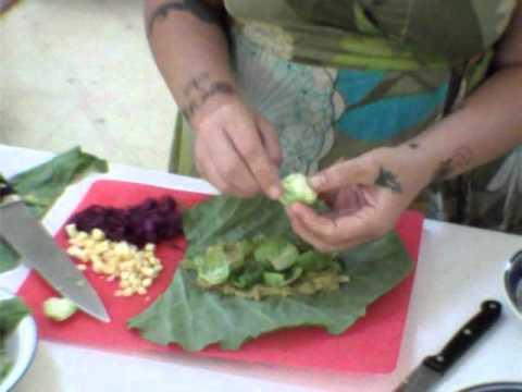Raw Vegan Recipe: Fiesta Burritos