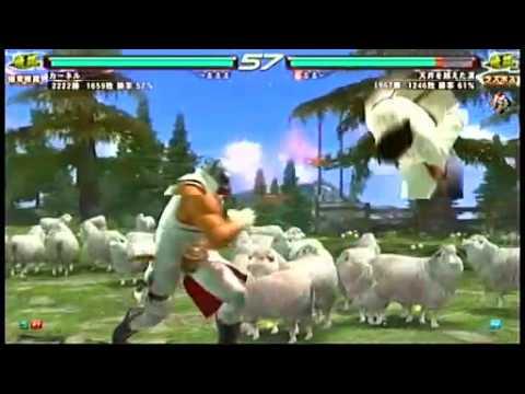 Tekken 6 BR : Kazuya vs Anna, King vs Dragunov, Lars vs Baek