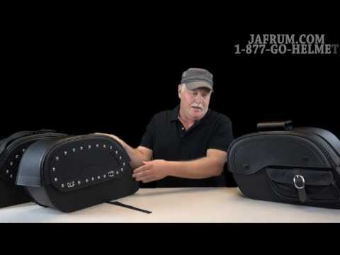 Premium Motorcycle Saddlebag Review - Jafrum.com