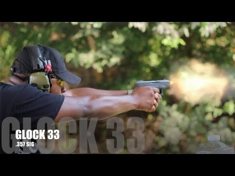 GLOCK 33 Shooting Review: My .357 SIG One Night Stand