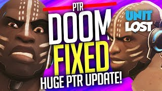 Overwatch - DOOMFIXED! Huge Doomfist PTR Update (ABOUT TIME!)