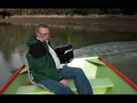 Homemade Wooden jon boat.