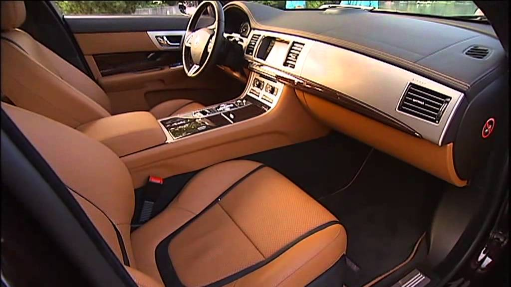 2012 Jaguar XF INTERIOR - YouTube
