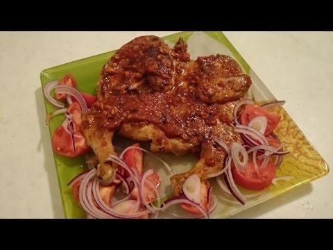 Цыпленок табака Секрет рецепта второго блюда из мяса на праздник что приготовить из курицы вкусно