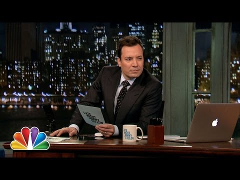 Hashtags: #AwkwardDate (Late Night with Jimmy Fallon)