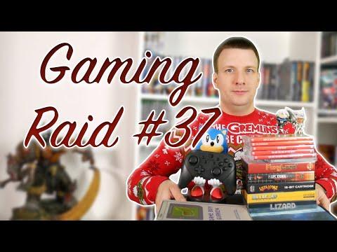 """Gaming Raid #37 """"XXL Weihnachts Pickups 2020 Neuentwickelte Spiele für NES, Sega MegaDrive und viel"""