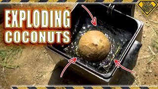 What Happens When You Deep Fry Coconuts?