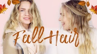 3 Days of Fall Hair from Clean to Dirty! (Serena Vanderwoodsen edition!)
