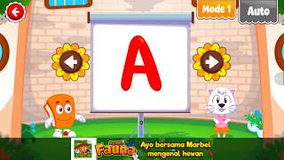 Learn ABC Alphabet With Marbel Alphabet Educational games for kids
