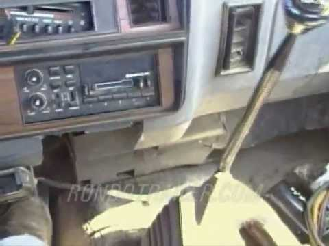 92 DODGE CUMMINS 12 valve 5 SPEED 4X4 TEST DRIVE BEFORE TAKING APART Video