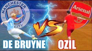 Kevin De Bruyne vs Mesut Ozil PREMIER LEAGUE size 1 FOOTBALL CHALLENGE