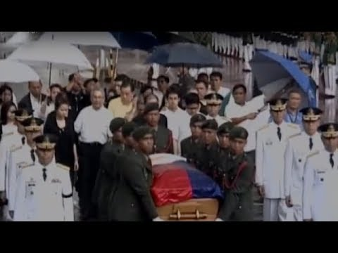 Cory Aquino passes away