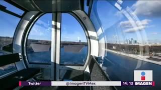 Hackean teleférico que cruza Río Moscú | Noticias con Yuriria Sierra