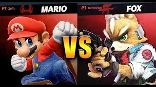 Super Smash Bros. Ultimate - Mario vs Fox - HD Gameplay