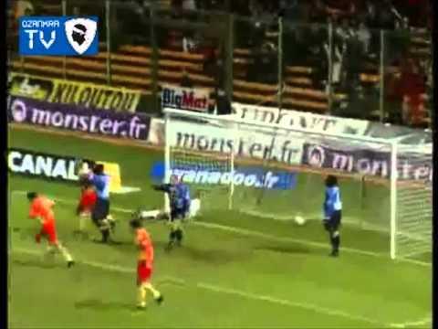 Lens 7-0 Bastia Division 1 16eme journee (2001-2002)