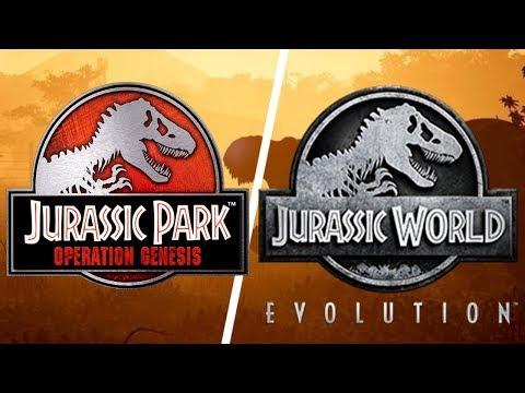 Jurassic Park: Operation Genesis Vs Jurassic World Evolution