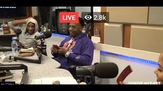 Moneybagg Yo Brings Red 2 Dollars Bills And More To The Breakfast Club