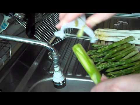 Как приготовить спаржу - видео