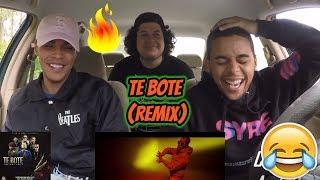 Te Bote Remix Casper Nio García Darell Nicky Jam Bad Bunny Ozuna Reaction Review
