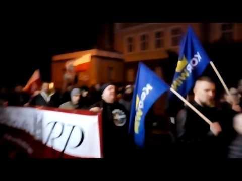 Marsz Pamięci Żołnierzy Wyklętych W Zielonej Górze 01.03.2017 (4)