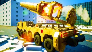 HUGE NUCLEAR MISSILE LAUNCHED, DESTROYS CITY! - Brick Rigs Workshop Creations Gameplay