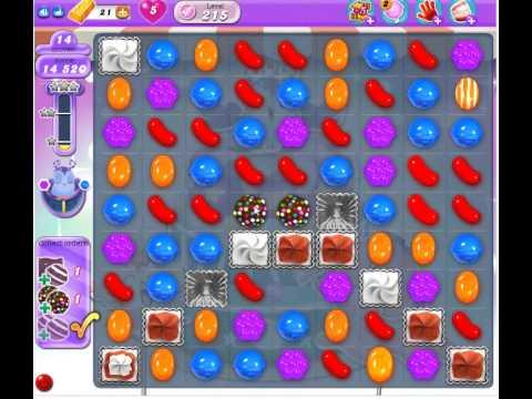 Candy Crush Saga Dreamworld Level 215
