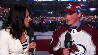Makar goes from food truck to Avalanche draft pick