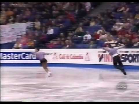 Shen & Zhao 申雪 - 趙宏博 (CHN) - 1999 World Figure Skating Championships, Pairs' Free Skate