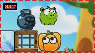 Chú heo đói bụng Hungry Piggy cu lỳ chơi game vui nhộn lồng tiếng gameplay