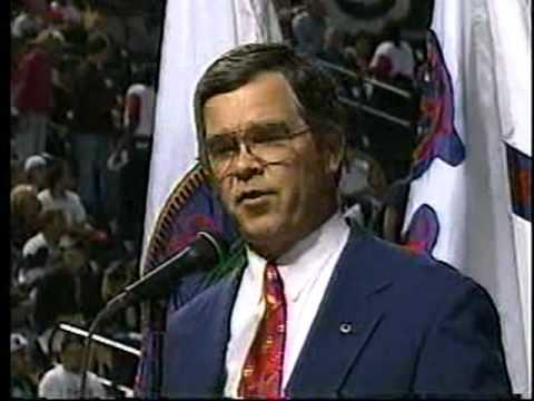 Pregame First Regular Season Game Turner Field Atlanta Braves April 4, 1997 Part 1