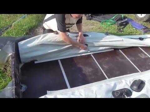 сборка лодки пвх видео 320