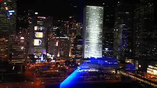Symphony of Lights Hong Kong from Observation Wheel