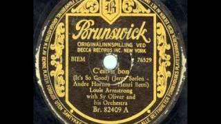 Louis Armstrong   C'est Si Bon It's So Good