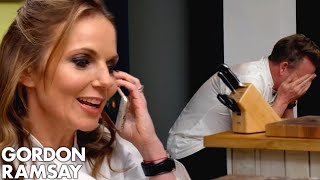 Spice Girl Geri Halliwell Phones Gordon Ramsay's Mother
