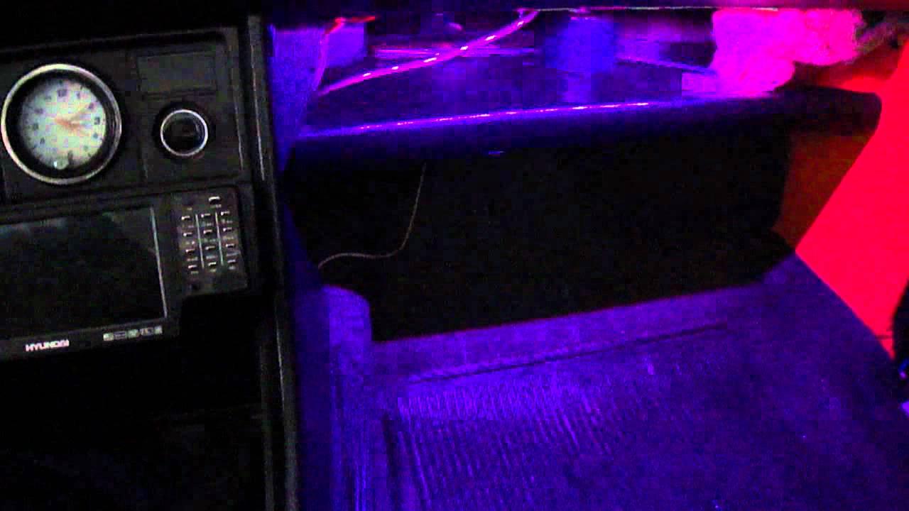 Подсветка салона на ваз 2107 своими руками видео