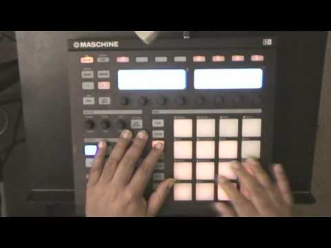 How to link pads on native instruments maschine
