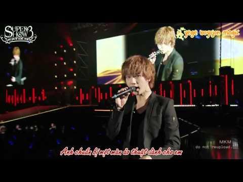 [SJF Vietsub + kara] Super Junior - Super Show 3 in Japan - U (OFFICIAL)