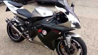 2002 Yamaha YZF R1 Walk Round Carbon Can