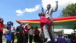 mtoto yohana anthony akihudumu katika ibada MOROGORO