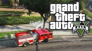 GTA 5 THUG LIFE #17 - DRIVE BY FIRETRUCK! (GTA V Online)