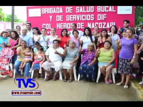 TVS Noticias.- Lleva DIF Mas Beneficios de Salud a Colonias de Coatzacoalcos