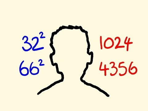 How to square any numbers in your head - fast mental math trick