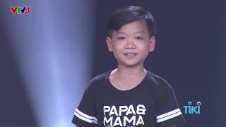 Nguyễn Minh Chiến – Nơi Ấy Con Tìm Về   Tập 5 Vòng Giấu Mặt   The Voice Kids Giọng Hát Việt Nhí 2018