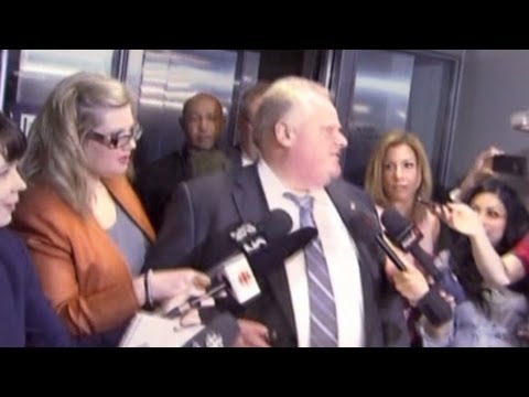 Was Toronto mayor caught using drugs?