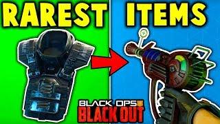 Top 5 RAREST ITEMS in BLACKOUT (Blackout Battle Royale)