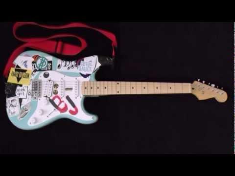 Billie Joe Armstrong Dookie Guitar Making a Billie Joe Ar...